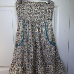 Summer Strapples Dress
